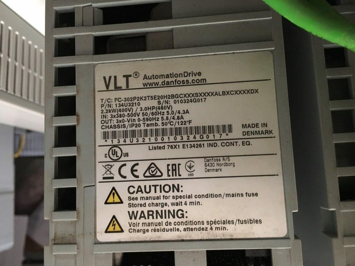 Biến tần FC302 dùng cho ứng dụng lò hơi