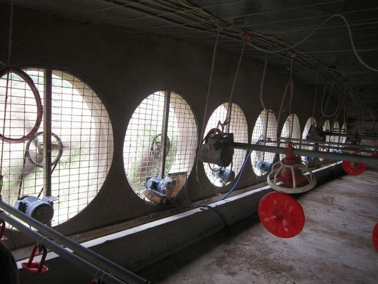 Hệ thống quạt gió lắp cho nhà xưởng