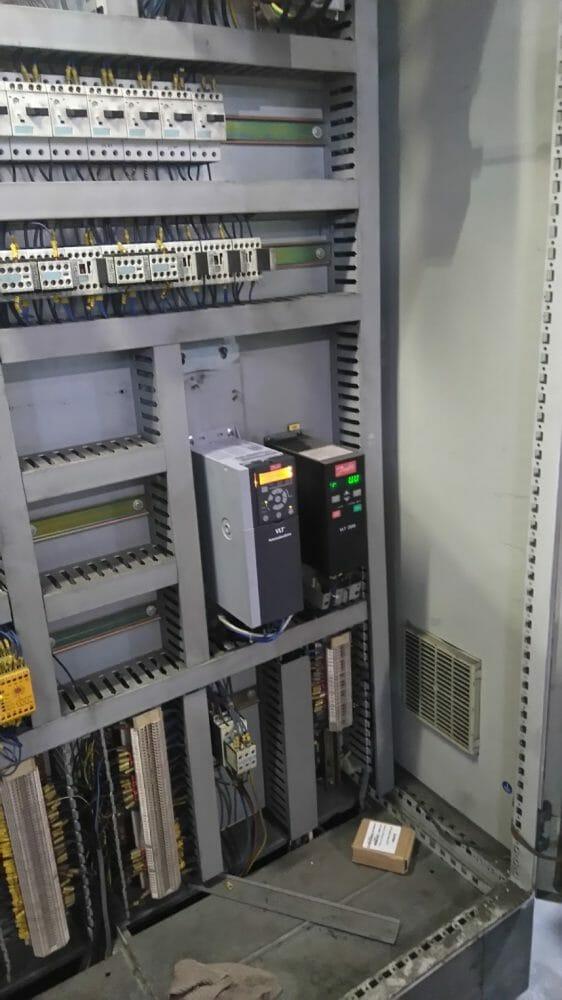 Một số hình ảnh đã thay thế biến tần VLT500 sang FC360