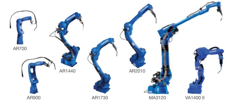 Robot hàn Yaskawa